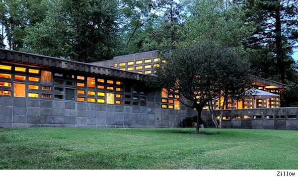 Frank Lloyd Wright's Tonkens House in Cincinnati