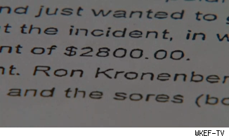 Ron Kronenberger police report