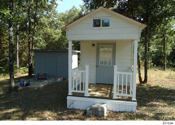 Little Houses For Sale tiny house companytiny house listings Then San Francisco Came Out With A Ridiculously Minuscule 160 Square Foot Apartment Now Theres A 128 Square Foot House For Sale In Dover Ark