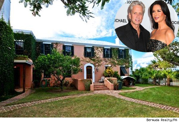 Home of MIchael Douglas, Catherine Zeta-Jones home in Bermuda