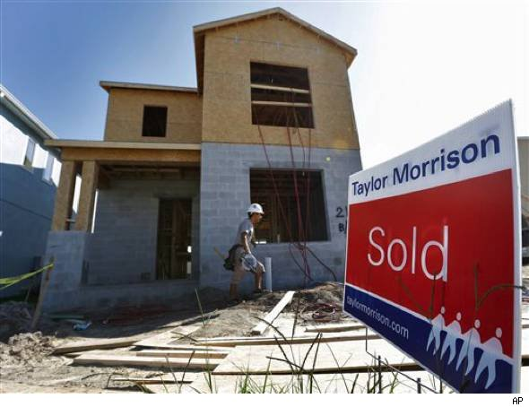 Corelogic sees home-price gain: Sold home under construction.