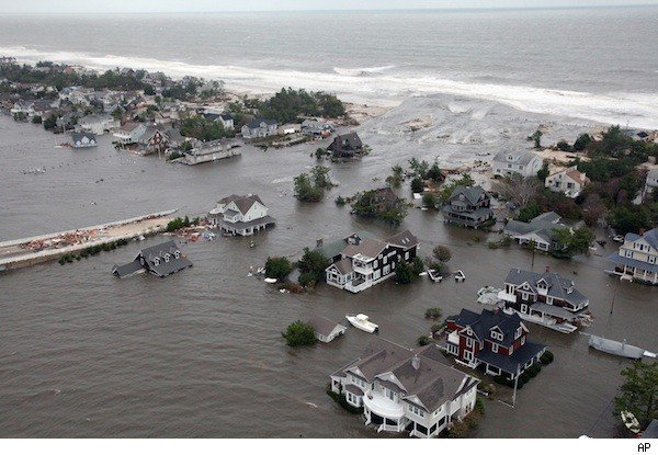 Hurricane Sandy flooded homes along the Eastern Seaboard.