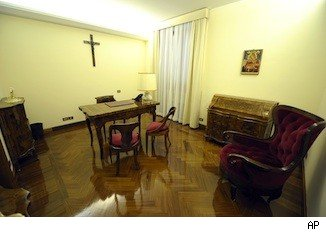 Pope Francis hotel suite