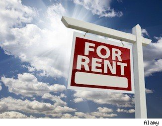 Renting a room in your house: For rent sign