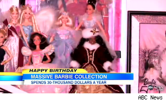 Barbies from Stanley Colorite's collection