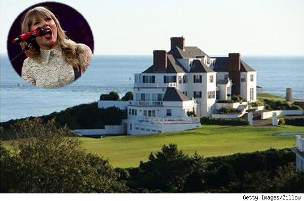Taylor Swift, mansion in Rhode Island