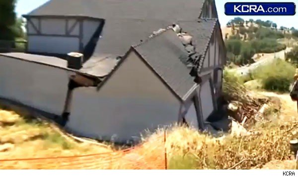 Lake County, Calif., home damaged by mystery water souce