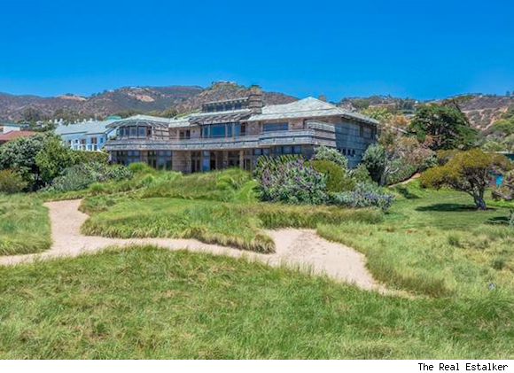 Steven Spielberg beach house in Malibu