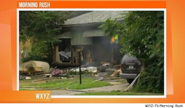 home explosion ypsilanti michigan