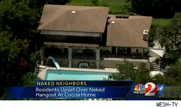 naked hangout club backyard, cocoa fla