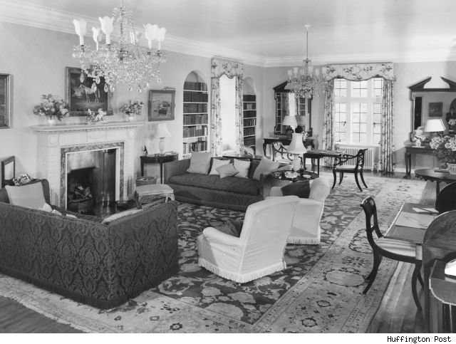 winston churchill living room