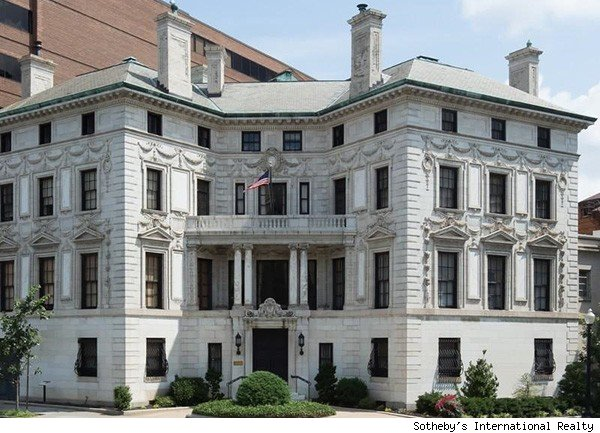 Calvin Coolidge's DC mansion