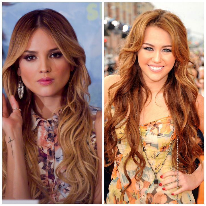 Eiza gonzalez and miley