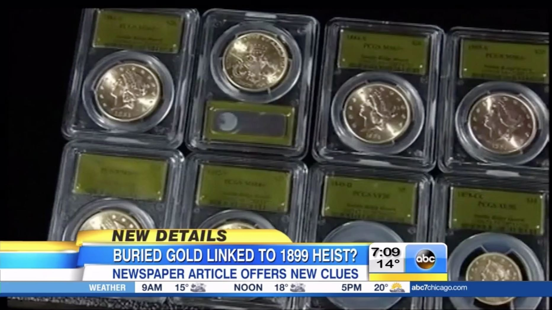 $10M in gold coins found in yard might be linked to 1899 ...