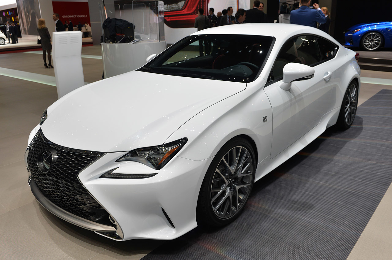 2015 lexus rc 350 f sport geneva 2014 photos autoblog. Black Bedroom Furniture Sets. Home Design Ideas