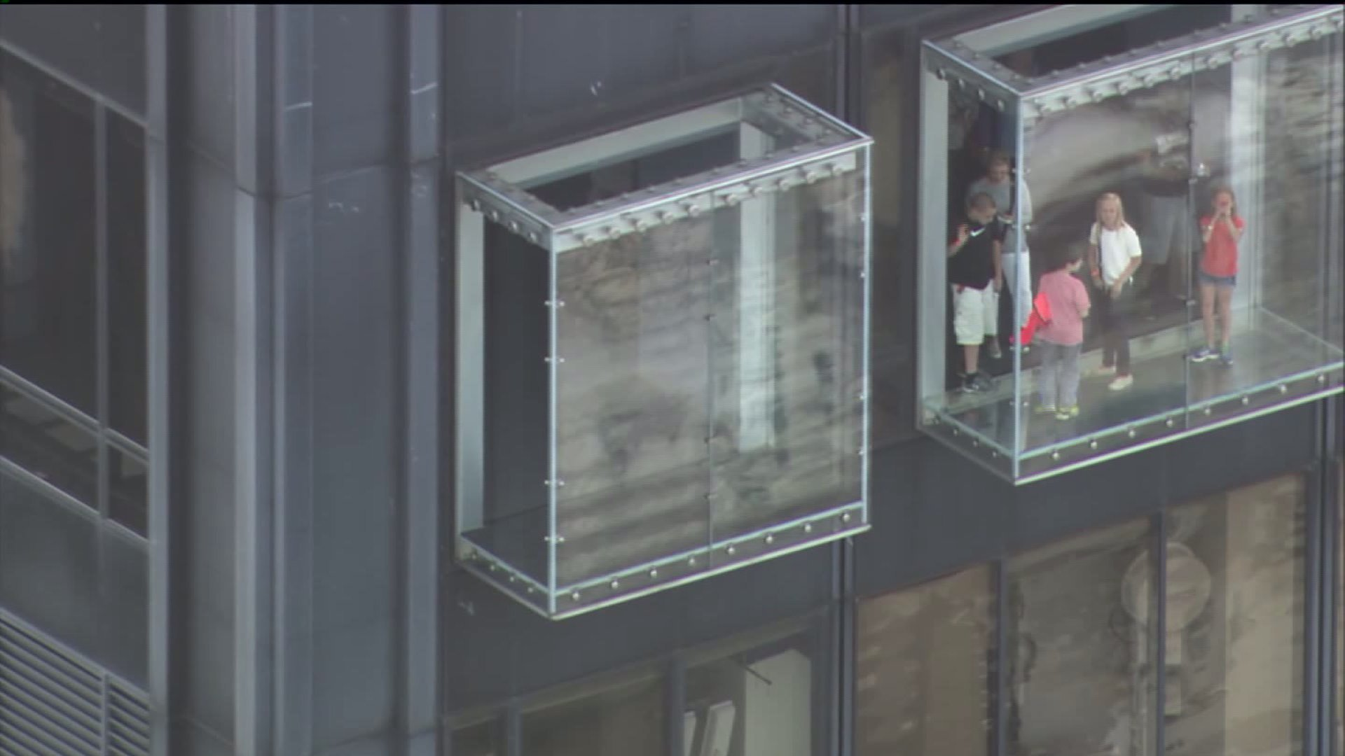 Protective coating on Willis Tower