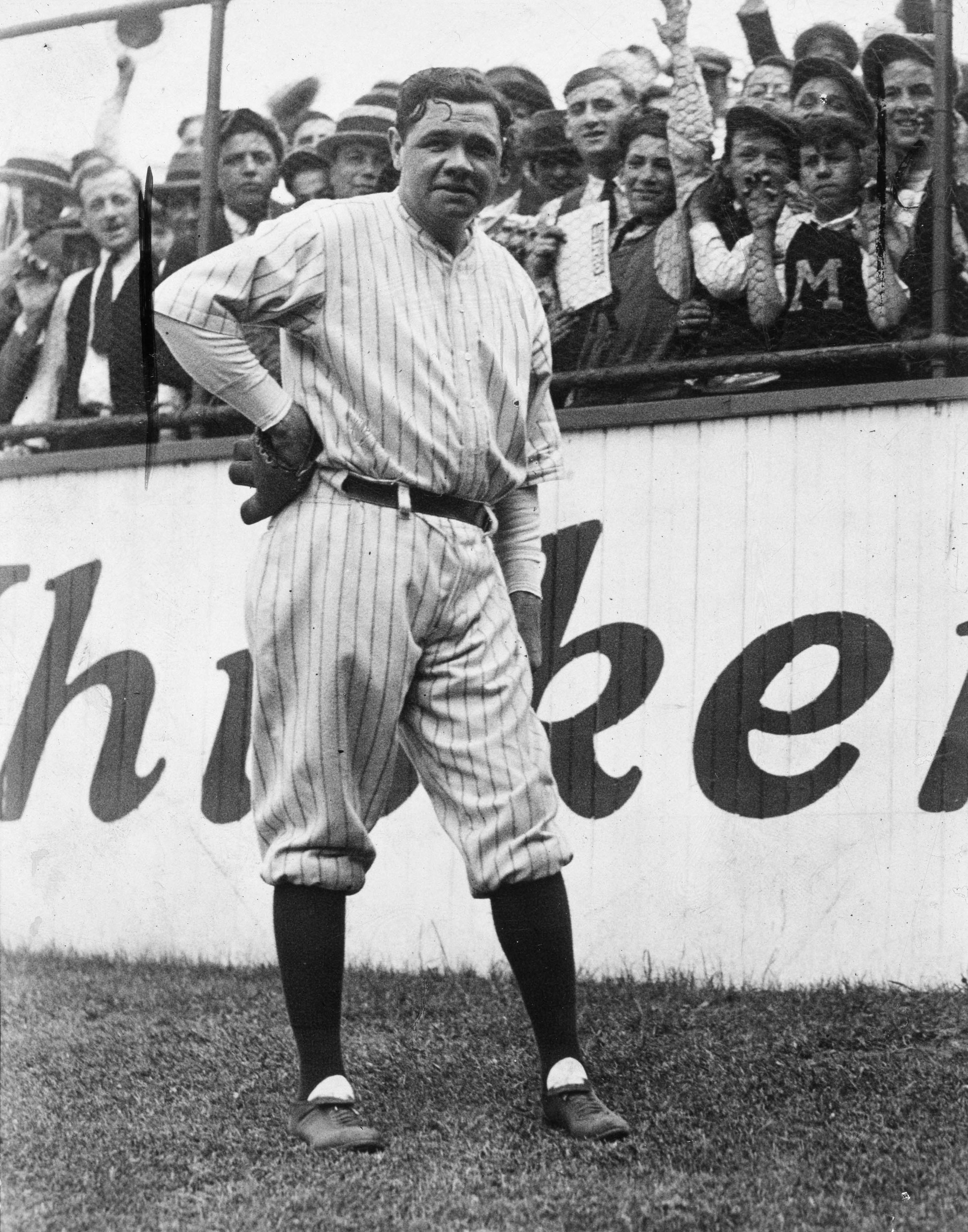 Why was babe ruth called the great bambino-1392