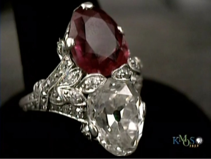 Antiques Roadshow Diamond And Ruby Jewelry Worth A