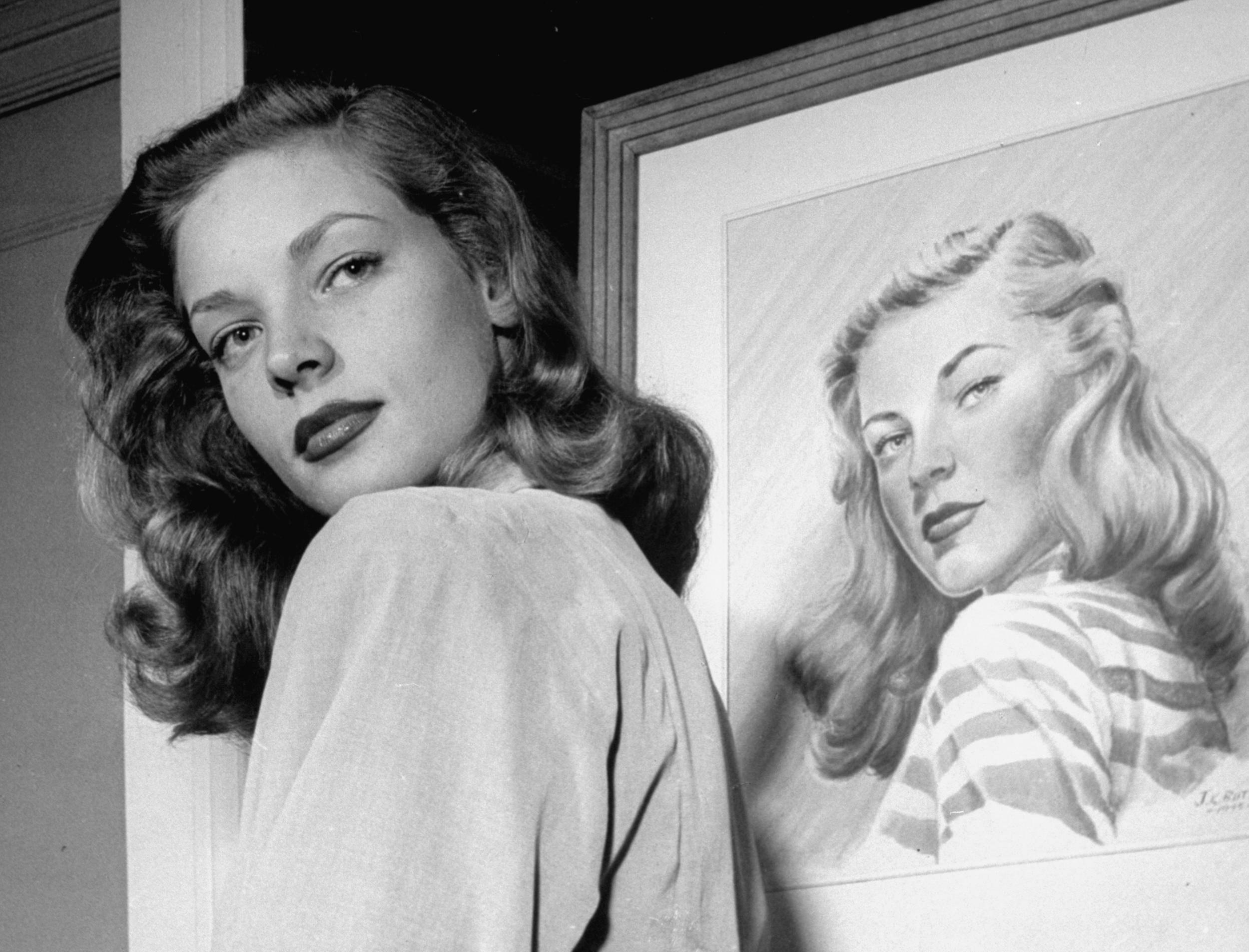 lauren bacall to have