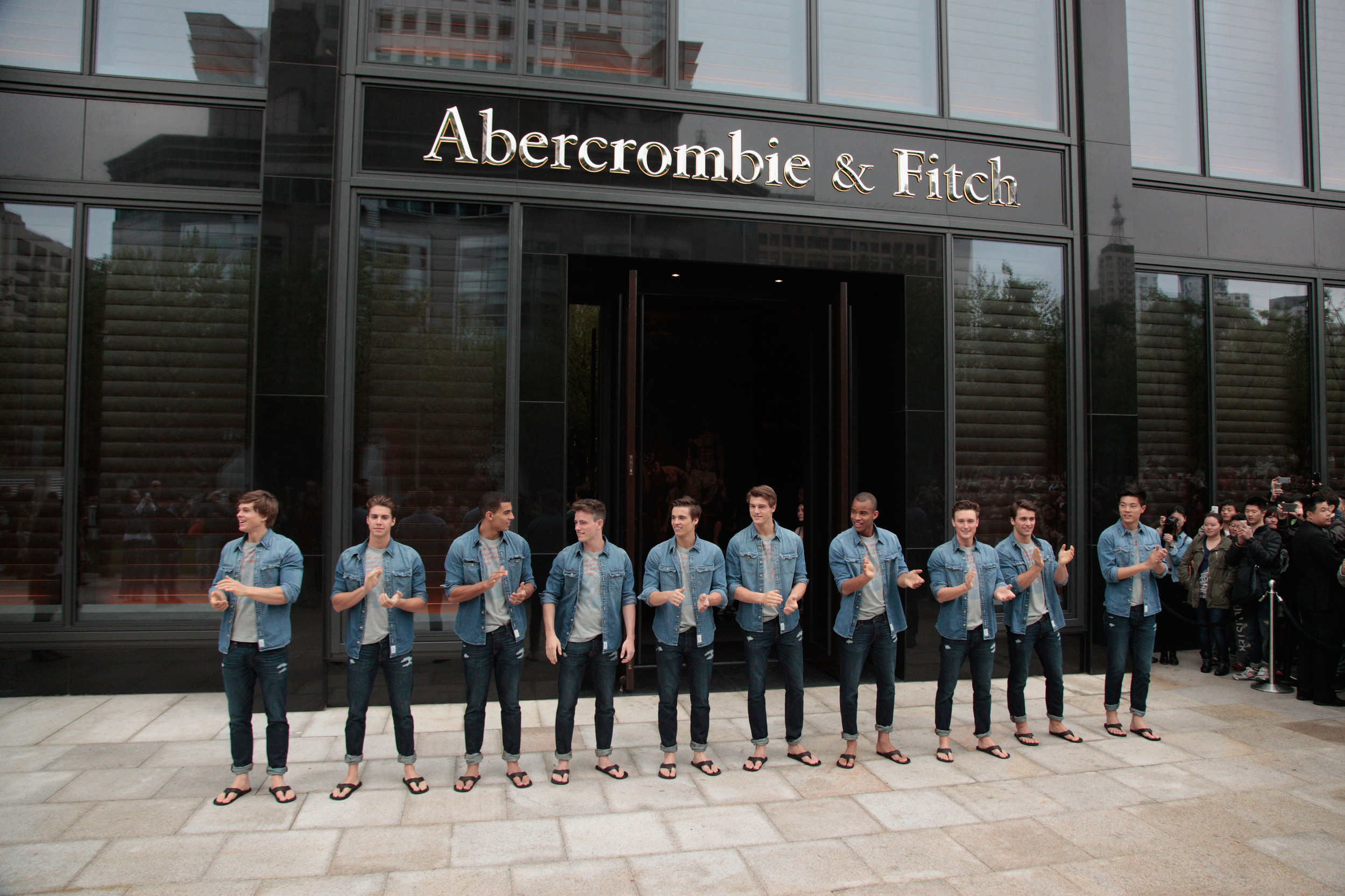 Girl Abercrombie fitch asian style t shirts big