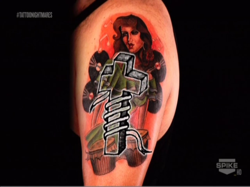39 tattoo nightmares 39 artist deals with hardest cover up of for Is tattoo nightmares still on