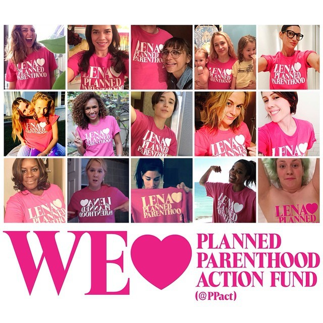 Planned Parenthood Celebrity Supporters - Celebrity Endorsers