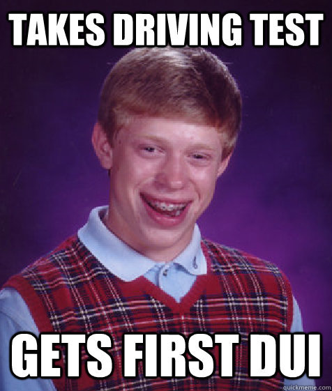 Image result for Bad Luck Brian