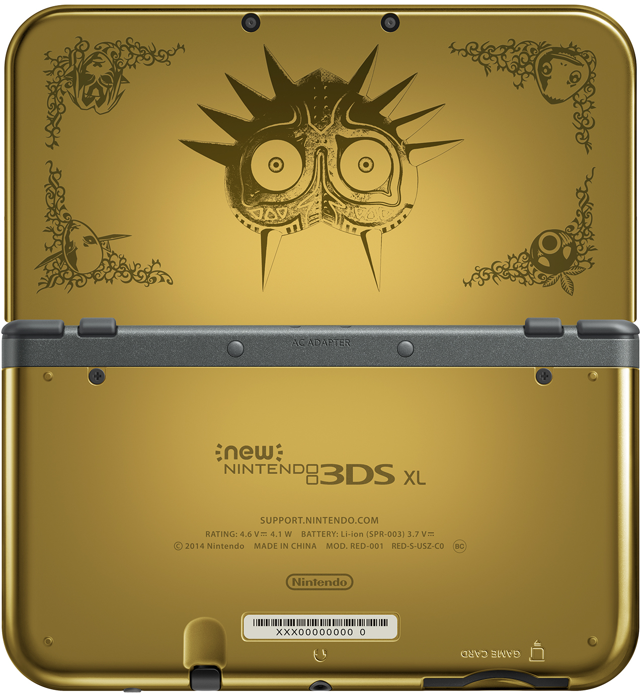 new nintendo 3ds xl majora s mask edition