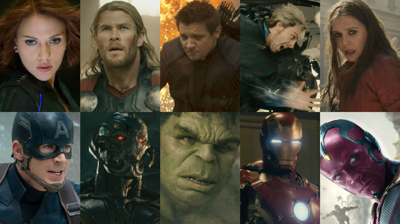 Meet the Avengers: A Guide to 'Age of Ultron' Characters ...