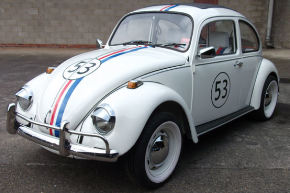 Two Herbie Vw Beetles Up For Sale At Classic Car Auction