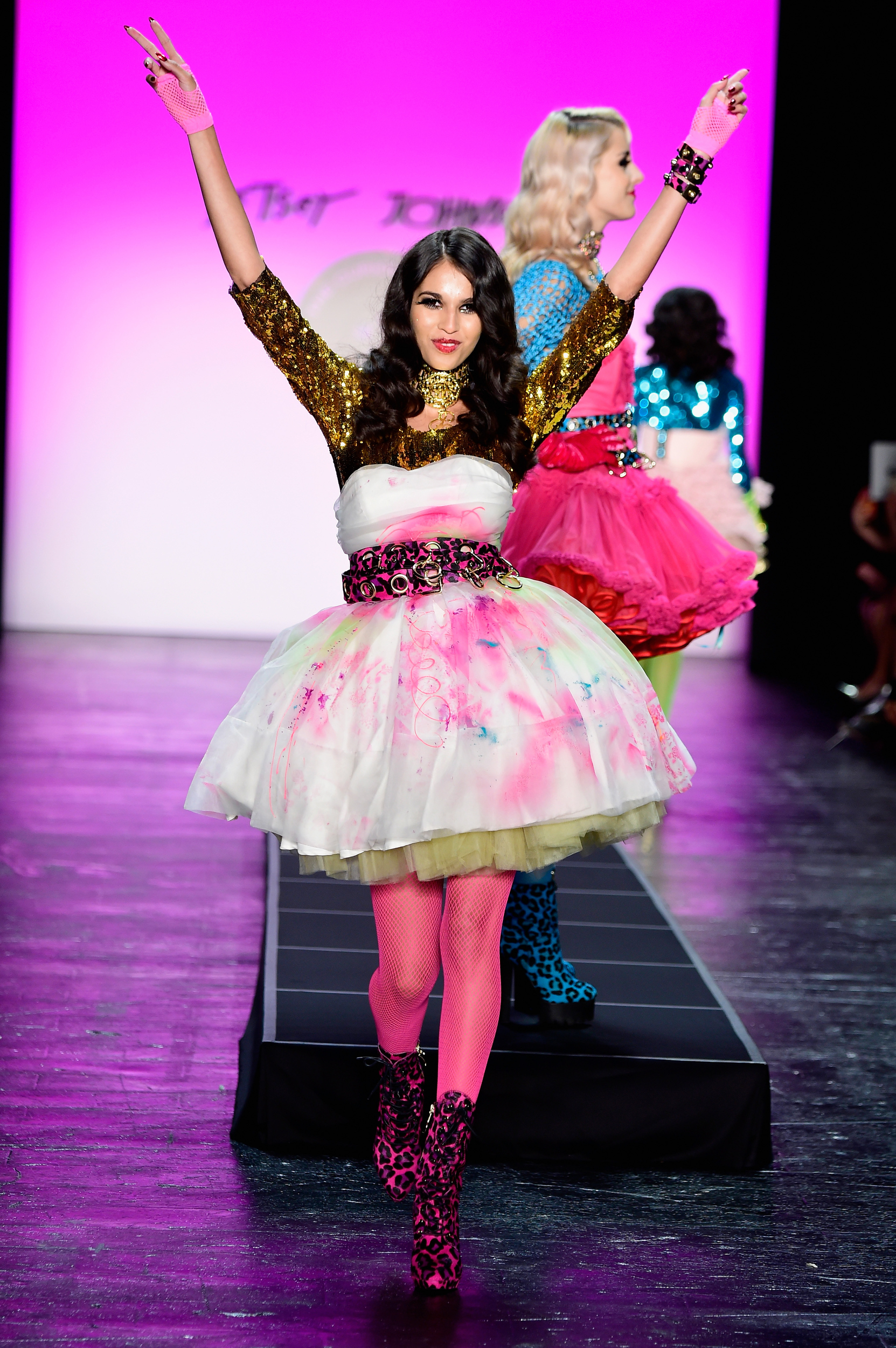 Betsey Johnson's costume party was a blast