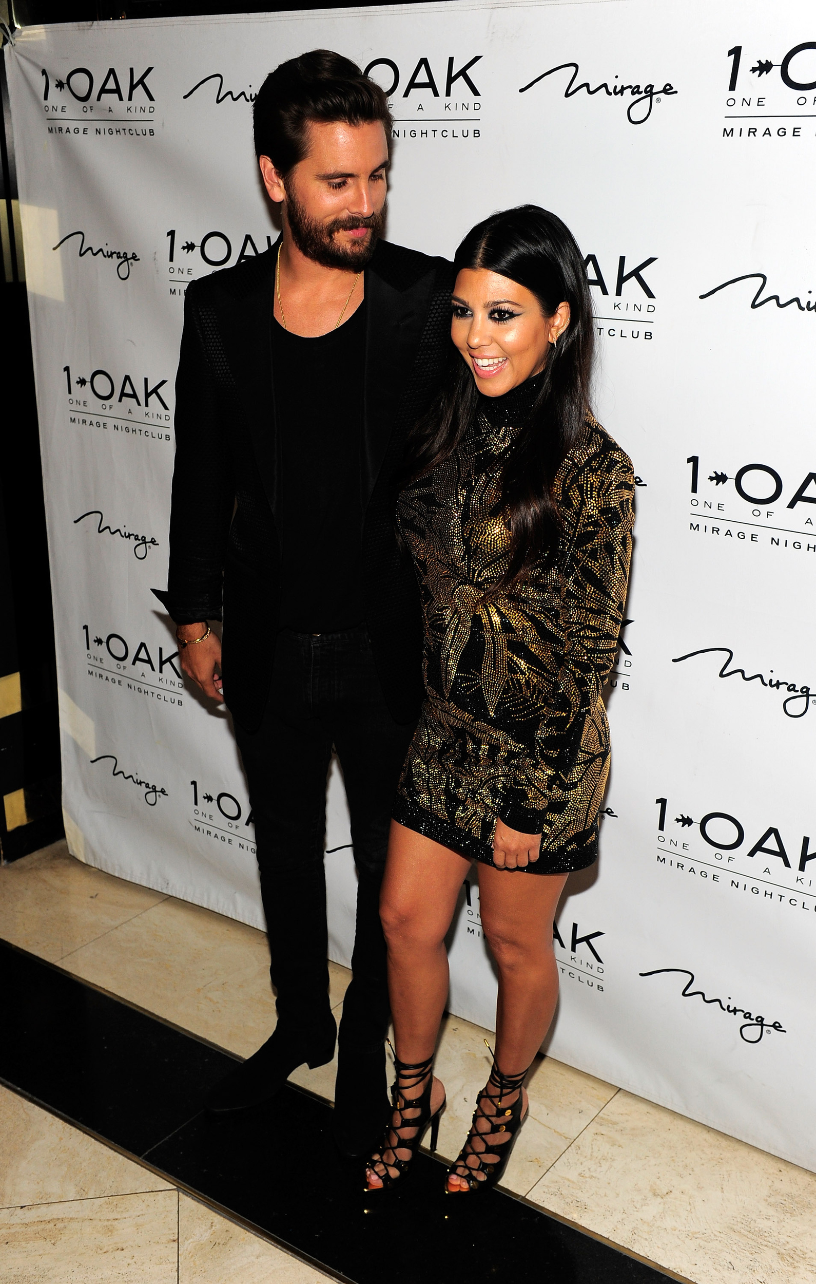 Has surprised Scott disick and kourtney kardashian remarkable, rather