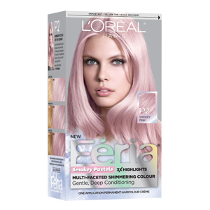 How to diy peekaboo pastel hair highlights aol lifestyle fria smokey pastels hair color in smokey pink solutioingenieria Image collections