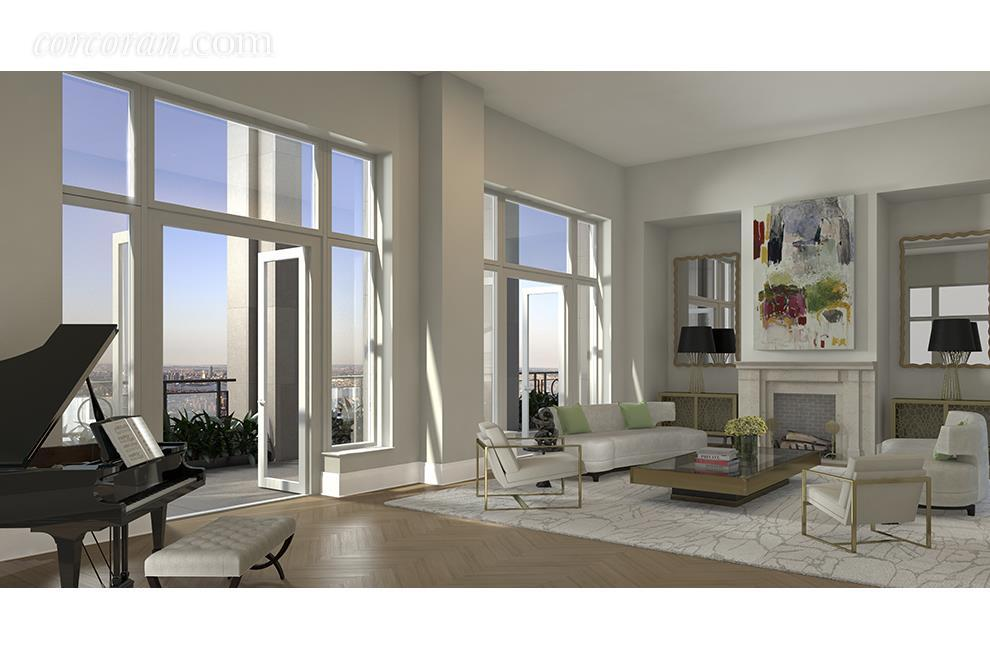 You can live in this 78th floor penthouse that defines Manhattan luxury for $32.5M