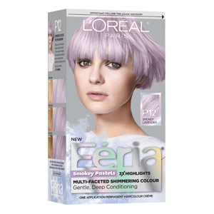How to diy peekaboo pastel hair highlights aol lifestyle fria smokey pastels hair color in smokey lavender solutioingenieria Image collections