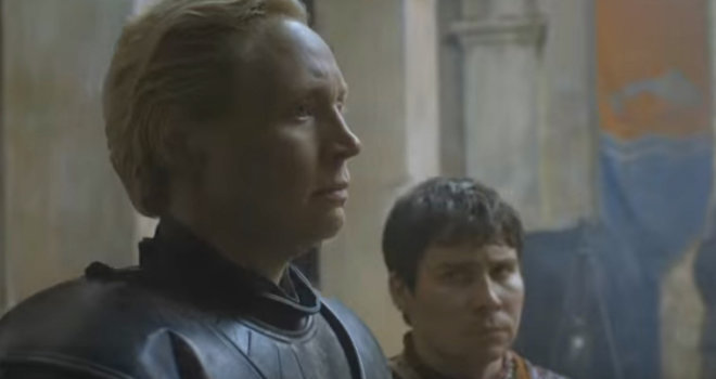 11. Brienne Actually Gets to Do Something