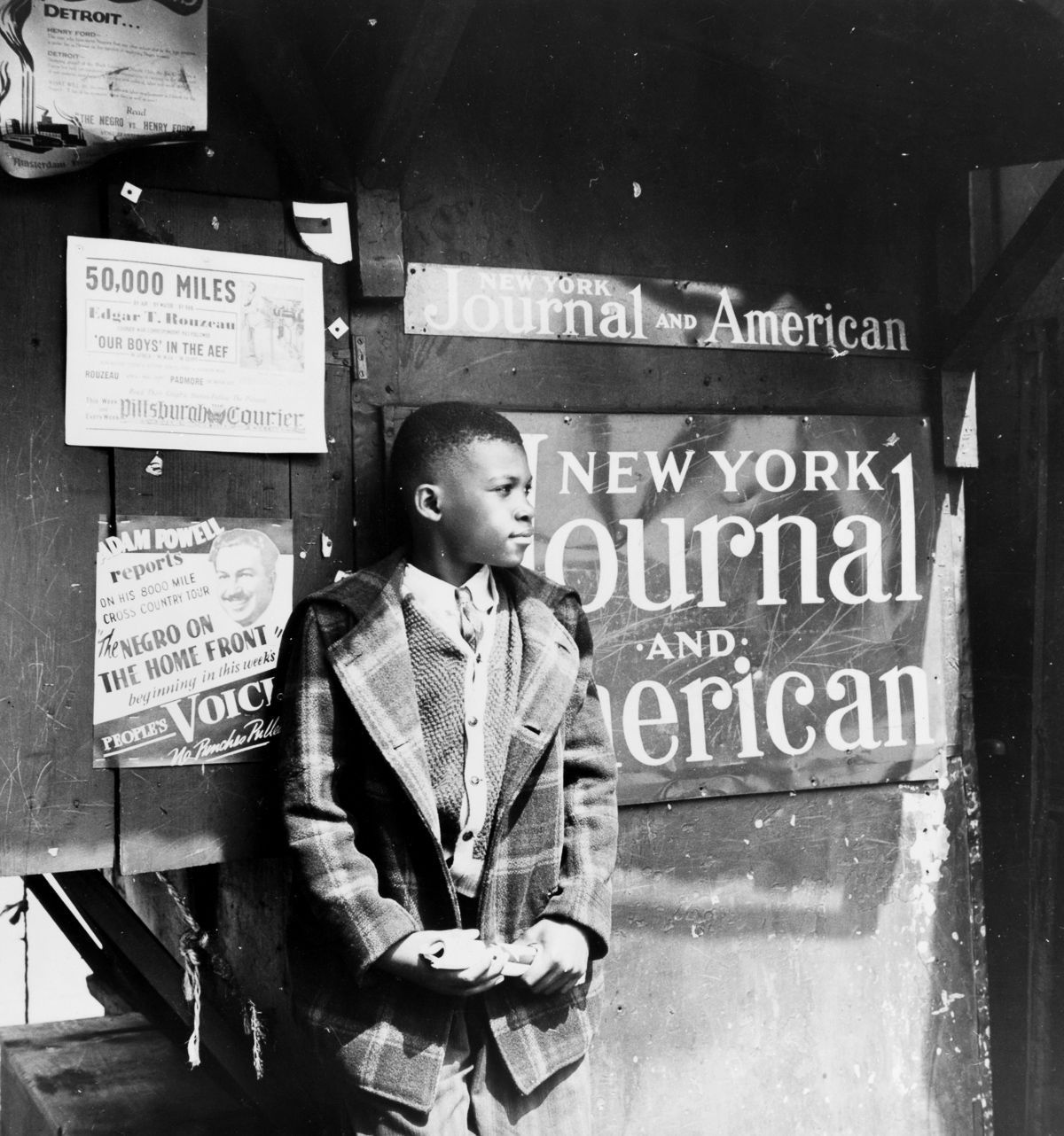 1943: Harlem through the lens of legendary photographer Gordon Parks