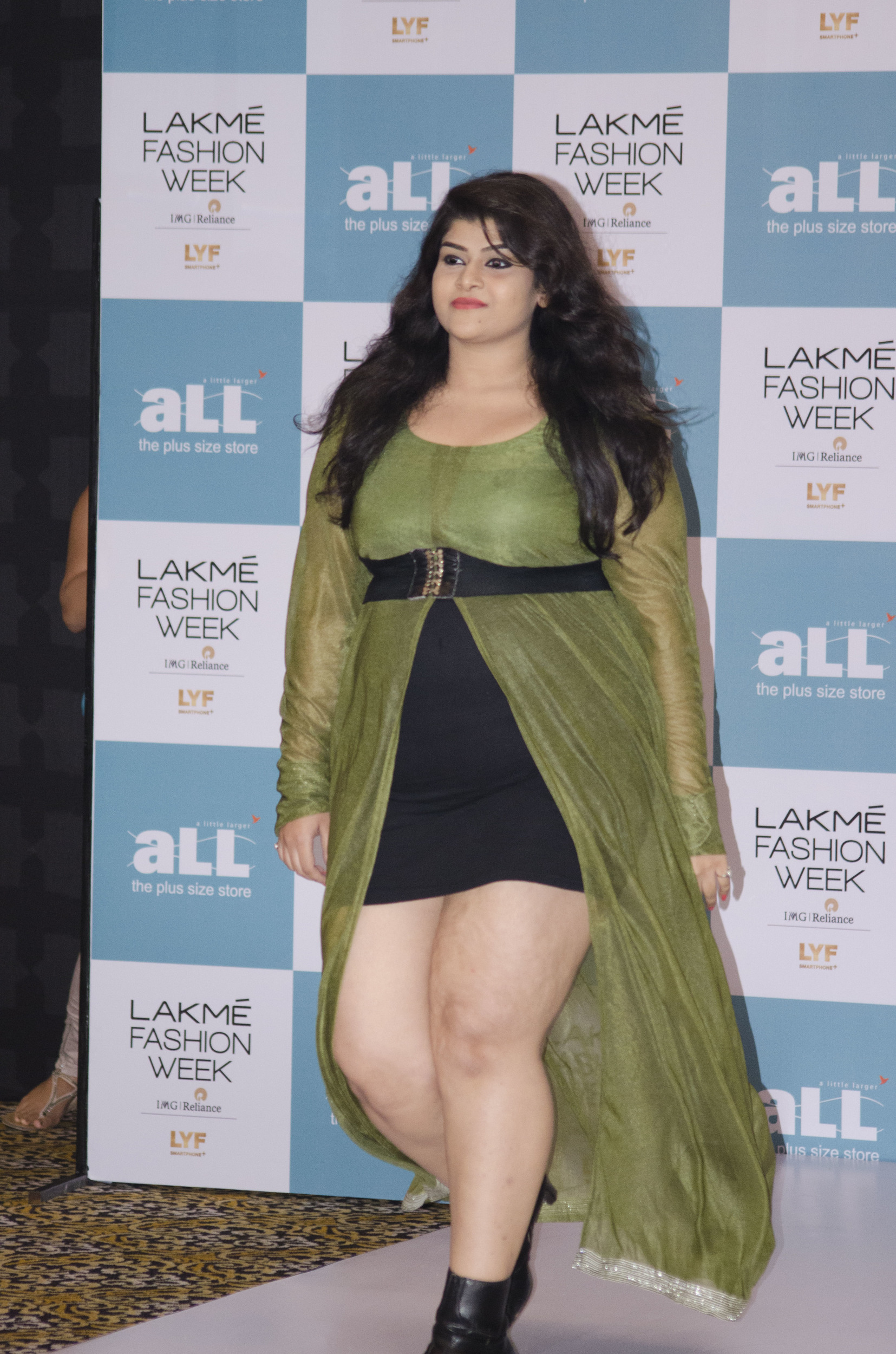photos: winners of lakmé fashion week's first plus size model