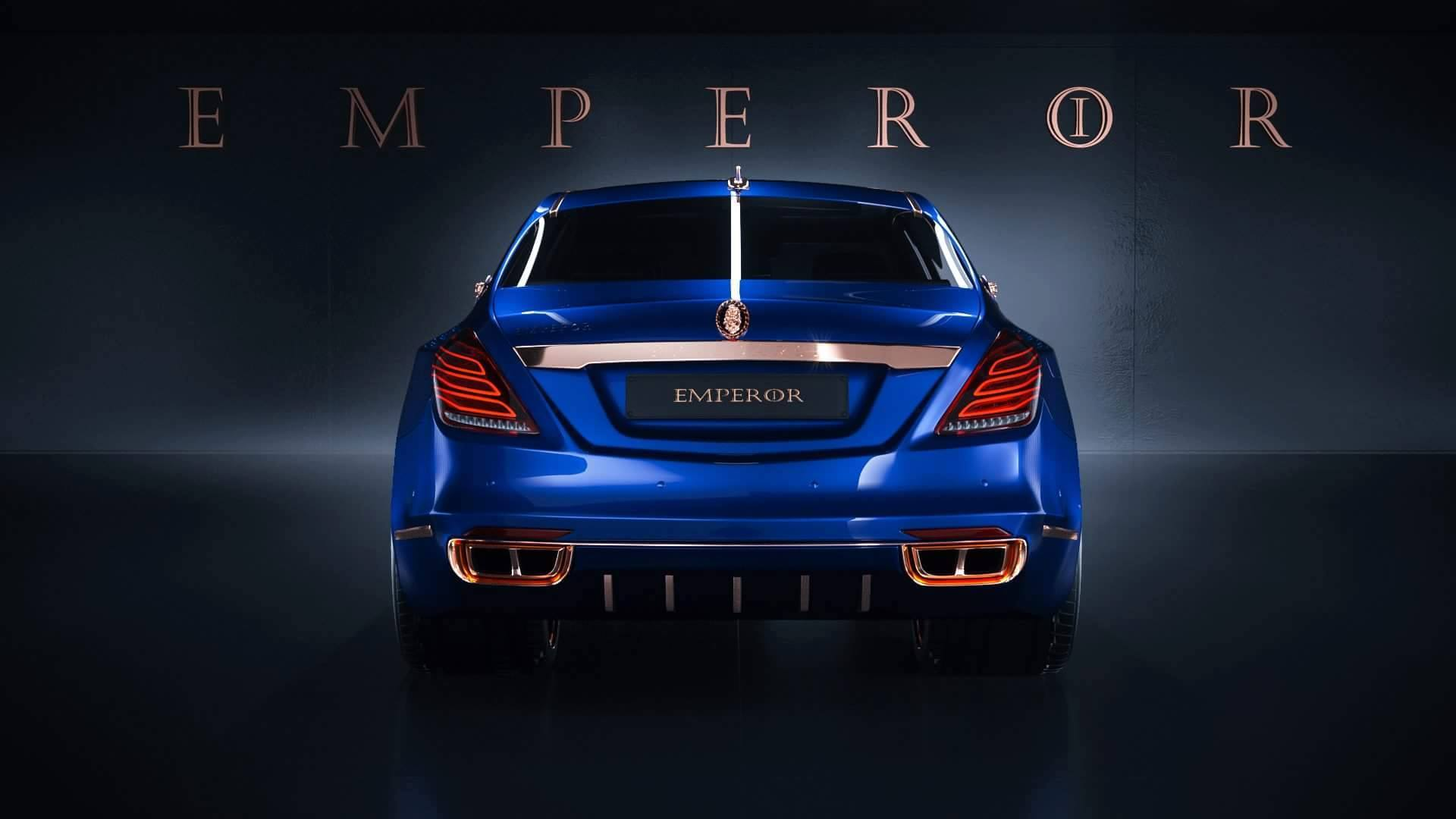 Scaldarsi motors maybach based 1 5 million emperor i is a sight to - Quote