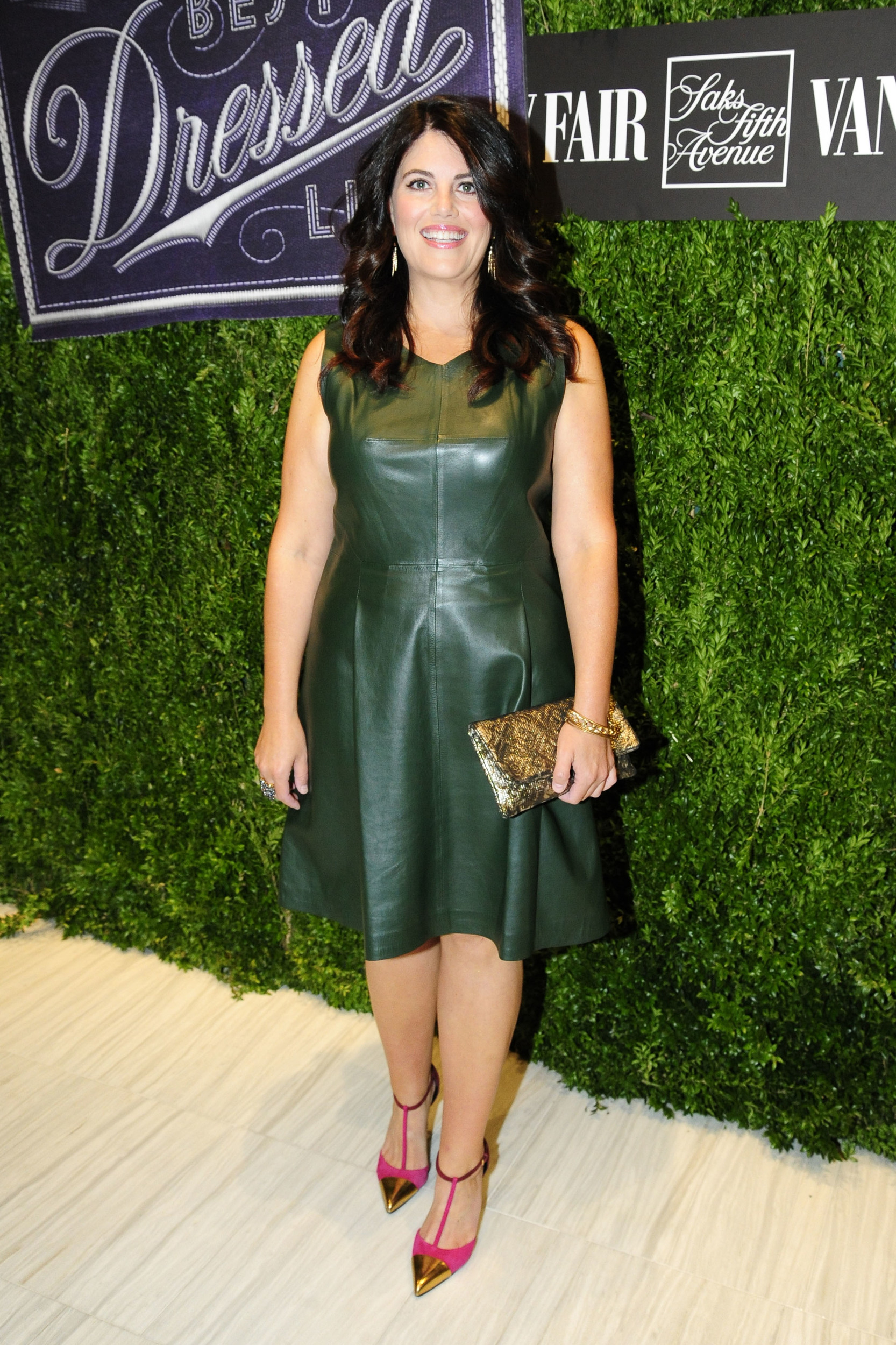 Monica Lewinsky Turns Heads In A Glam Look AOL Entertainment
