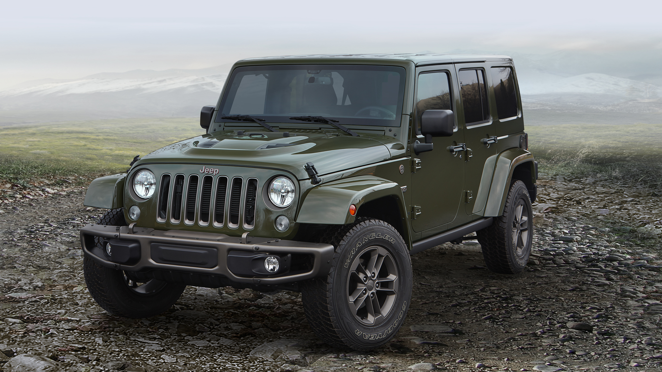 2017 Jeep Wrangler - Road and Trail Capable SUV