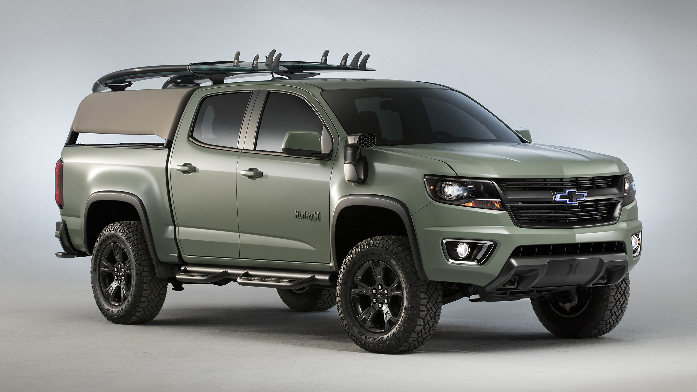 2017 Chevrolet Colorado Z71 Hurley Concept Photo Gallery Autoblog