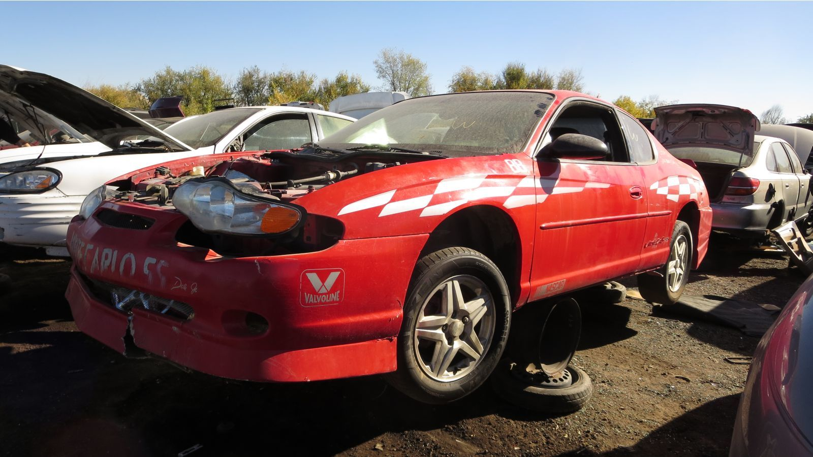 Junked 2000 chevrolet monte carlo ss pace car edition photo gallery autoblog