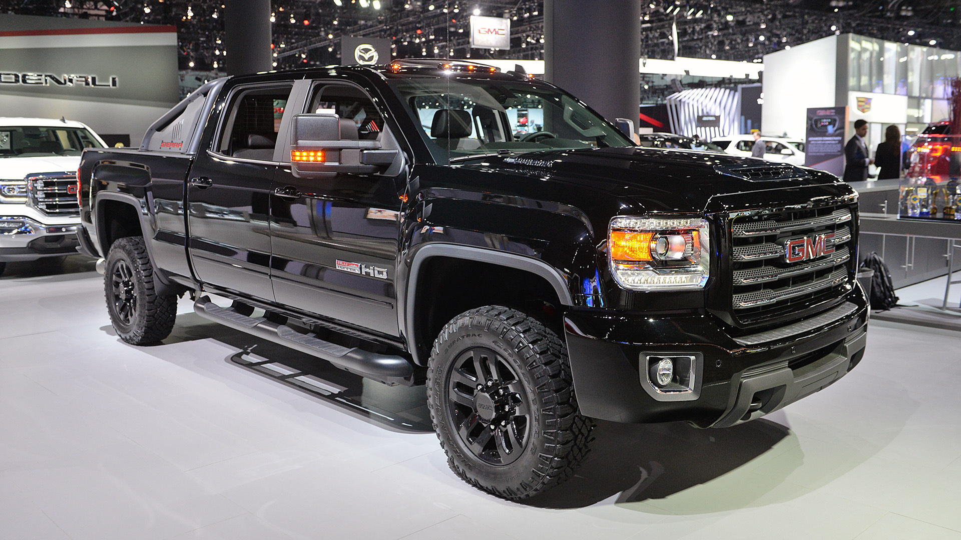 2017 GMC Sierra 2500HD All Terrain X eyes Ram Power Wagon ...