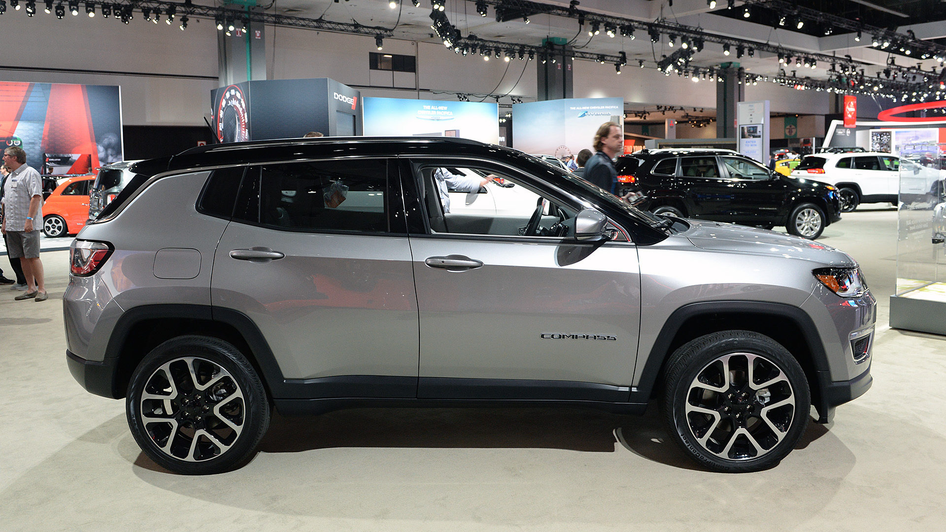 abbastanza 2017 Jeep Compass is finally a compact crossover worthy of its  SH83