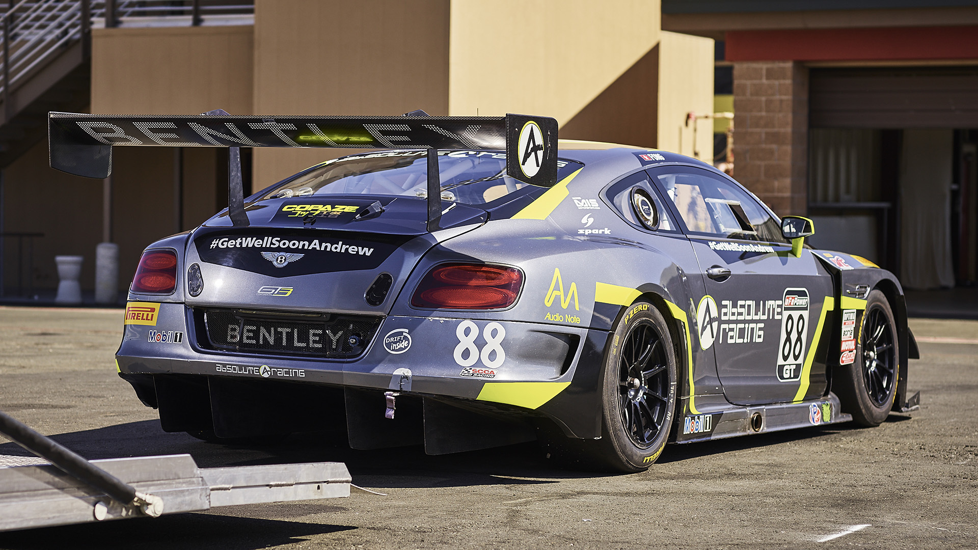 Bentley Continental Gt3 Racecar Track Test Photo Gallery Autoblog Audio Wiring