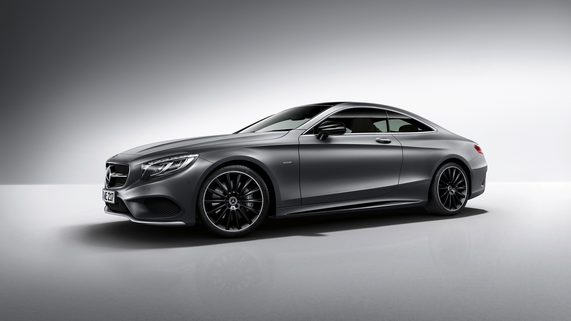 mercedes benz s class coupe night edition 2015 - 2015 Mercedes S Class White