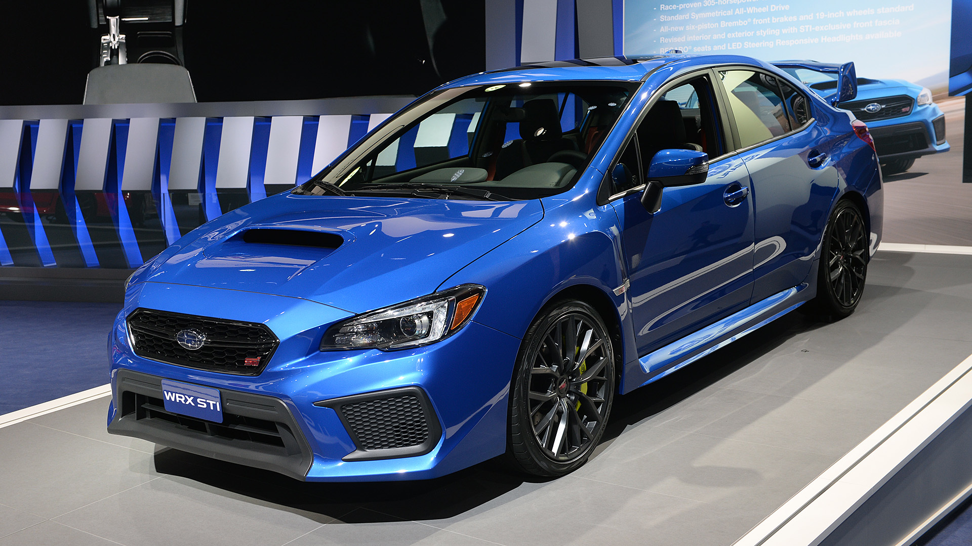 2018 Subaru Impreza Wrx Sti Detroit 2017 Photo Gallery Autoblog