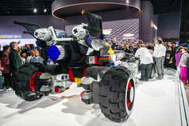Lego's full-sized Batmobile is one of the coolest cars at ...