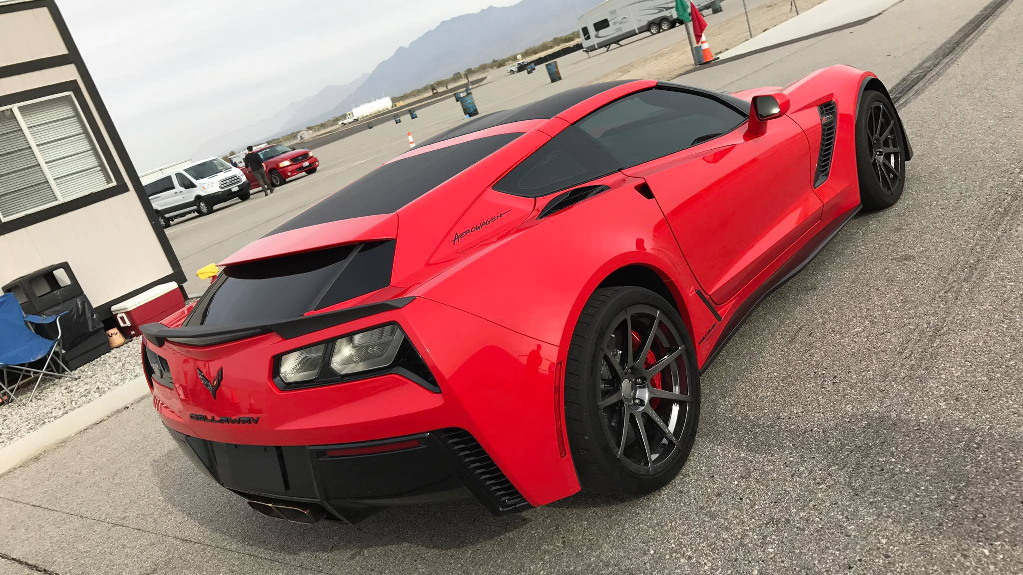 Image Gallery Mid-engine Corvette